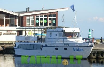 Kelionės laivu Nidas
