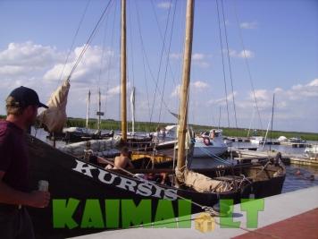 Pasiplaukiojimas laivu Kuršis