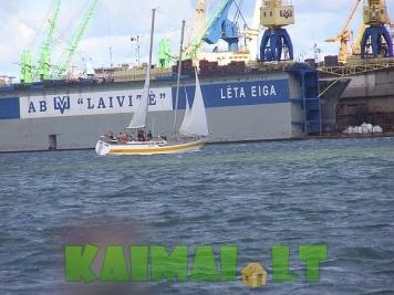 Turistinės kelionės jachta Neringa