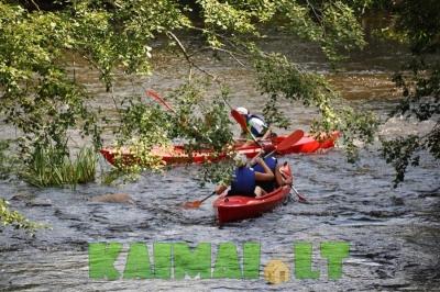 Išbandykite plaukimą baidarėmis Virvyčios upe!