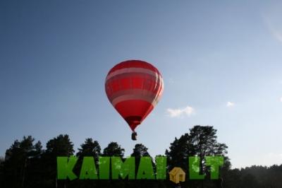 Nuostabus skrydis oro balionu