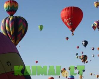 Skrydžiai oro balionu