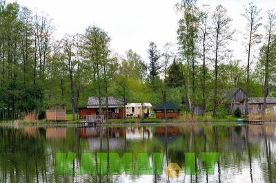 """Pirties nuoma Sodyba """"Grūtas"""" ant ežero kranto - pirtis su kubilu ir poilsio namelis"""