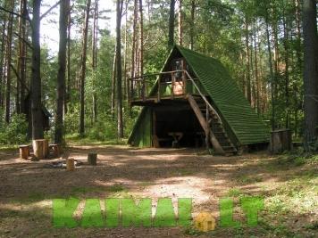"""sodybos nuoma: Turistinė stovyklavietė """"Siesartis"""""""