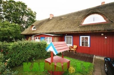 sodybos nuoma: Žvejo namas