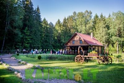 sodyba vestuvėms: Miško oazė