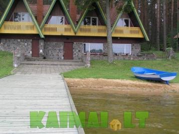 sodybos nuoma: Išnuomojama sodyba ant ežero kranto pobūviams...