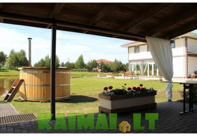 Pirties nuoma Sodyba Naujojoje Vilnioje -  Villa Bonita