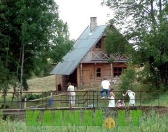 sodybos nuoma: Valentinos Mazūrienės poilsio namelis